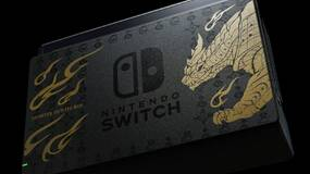 Image for Check out the Monster Hunter Rise-themed Switch coming to Europe and Japan