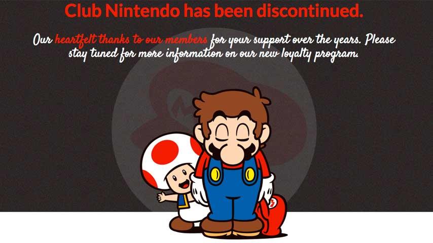 Image for Goodbye, Club Nintendo