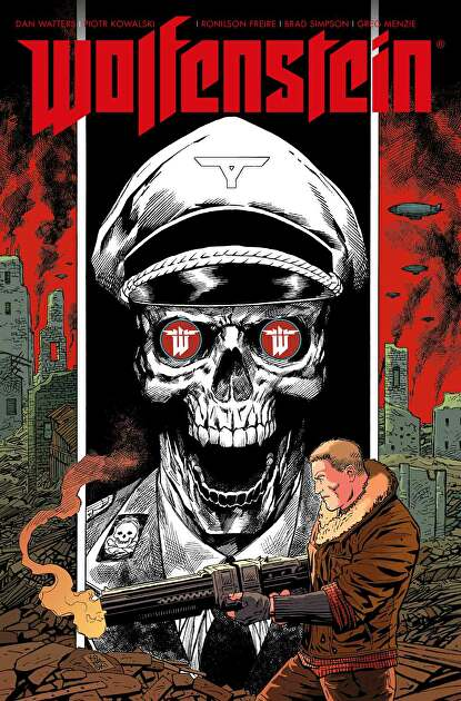 comic wolfenstein collection cover.