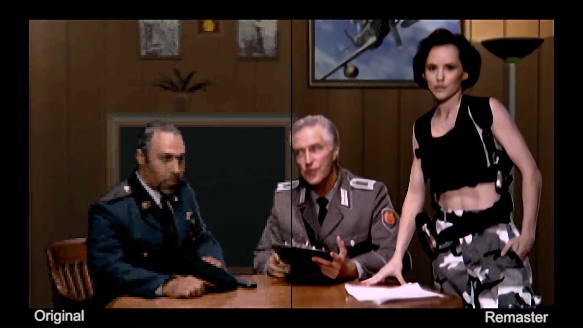 Image for Command & Conquer Remastered will AI-upscale original FMV cutscenes
