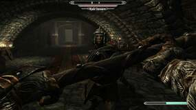 Image for I've beaten Skyrim at least five times and I never knew you could duel the Companions in Jorrvaskr