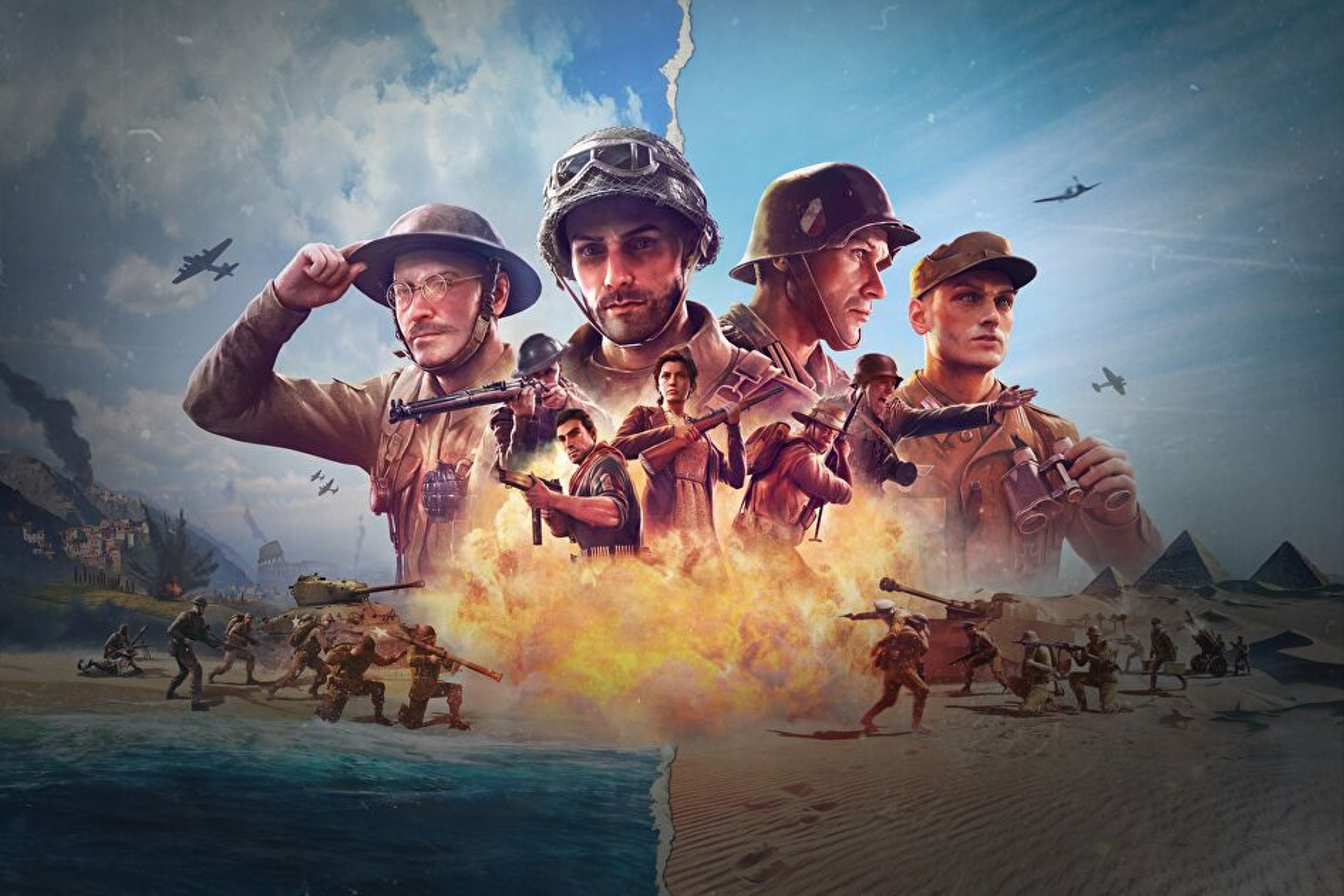 Video Company of Heroes 3 memperdalam proses pengembangan dan menunjukkan bidikan baru