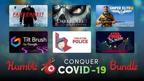 Image for The Humble Conquer COVID-19 Bundle helps charities fighting the pandemic