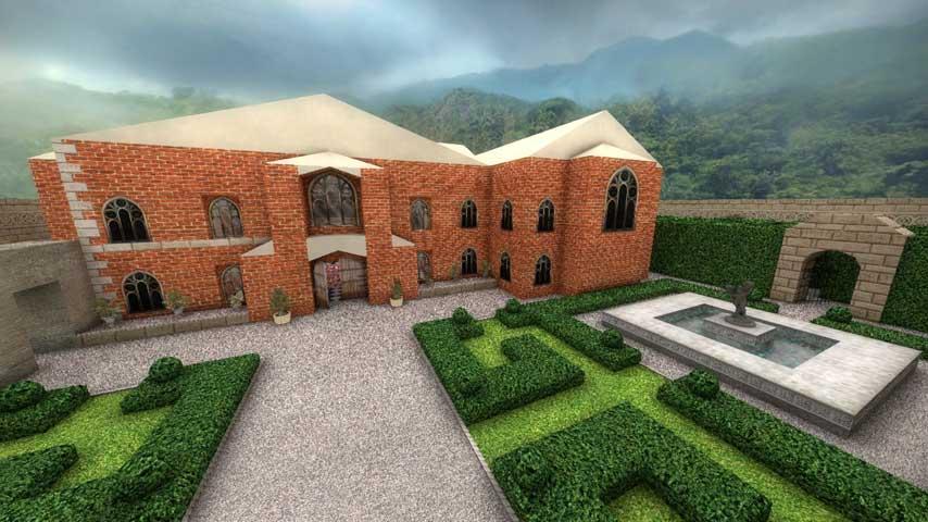 Image for Explore Lara Croft's mansion in this great CS:GO map