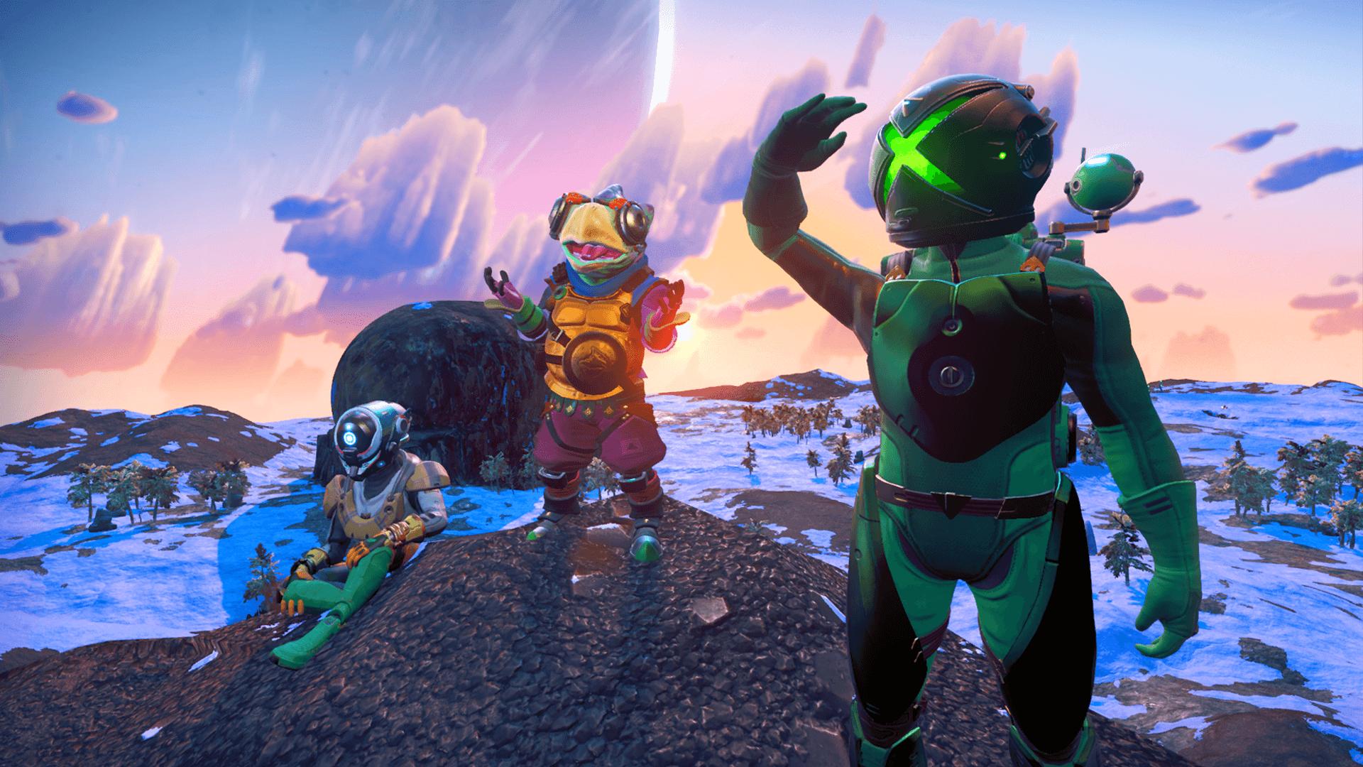 Image for No Man's Sky cross-platform multiplayer support coming June 11