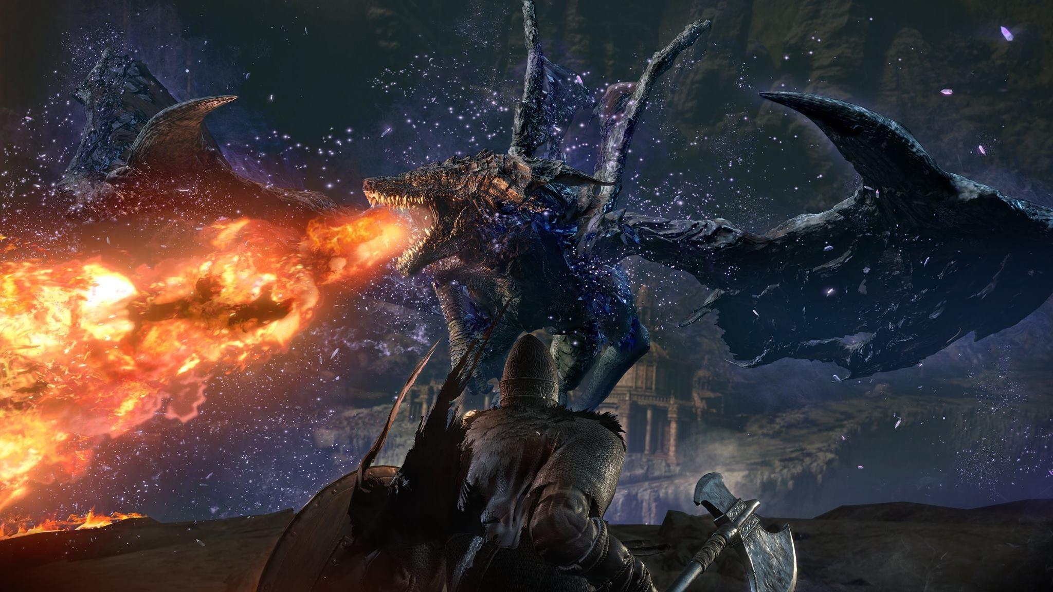 Image for Dark Souls 3: The Ringed City walkthrough - Shared Grave to Darkeater Midir