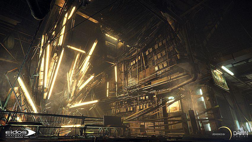 "Image for Dawn Engine is the ""cornerstone"" to Deus Ex: Universe development"