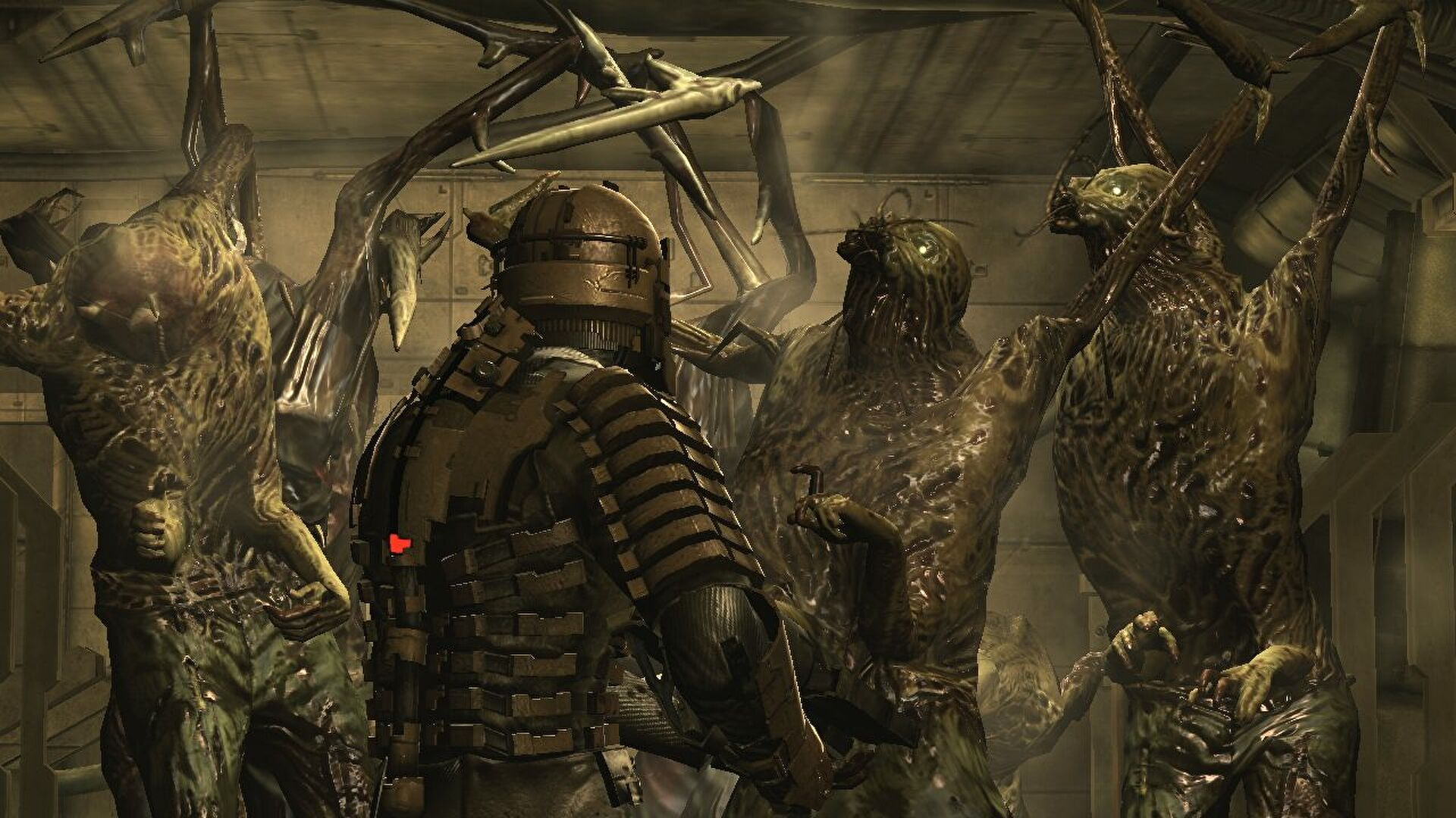 In Dead Space, the dismemberment will be more gruesome and Isaac will speak this time.