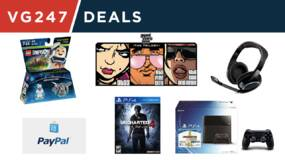 Image for VG247 Deals - save over $100 on a Sennhesier gaming headset, 50% off GTA Trilogy, Ghostbusters Lego and more