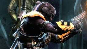 Image for Injustice: Gods Among Us screens show Deathstroke slapping the Justice League around