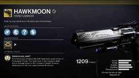 Image for Destiny 2: Beyond Light - How to complete As the Crow Flies and get the Hawkmoon Exotic Hand Cannon