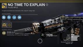 Image for Destiny 2: Beyond Light – How to get the No Time to Explain Exotic Pulse Rifle and complete the Catalyst