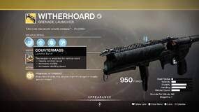 Image for Destiny 2: Season of Arrivals -How to get the WitherhoardExotic Grenade Launcher