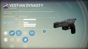 Image for Check out the sidearm pistol Vestian Dynasty from Destiny: House of Wolves