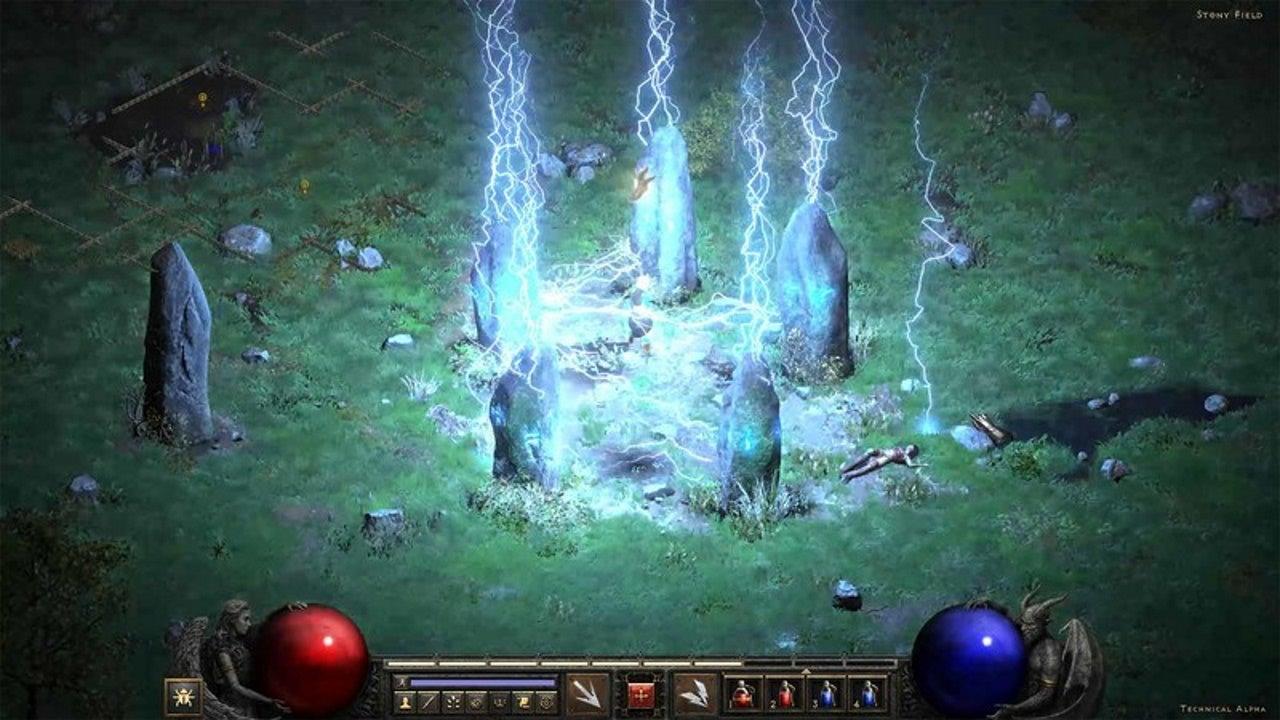 Image for Diablo 2 Resurrected Cairn Stones and Underground Passage Location