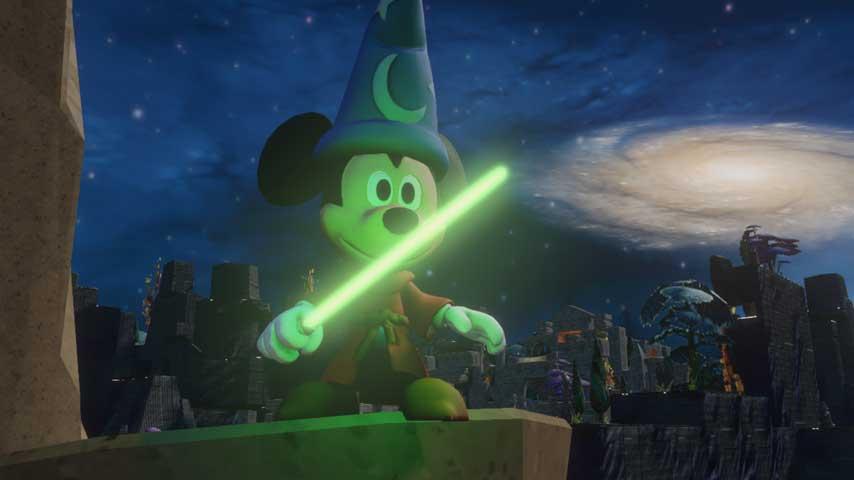 Image for Disney Infinity lightsaber easter egg uncovered