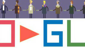 Image for Doctor Who: 50th anniversary browser game takes over Google homepage