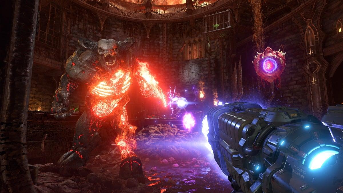 Image for Doom Eternal cracks 100,000 concurrent players on Steam
