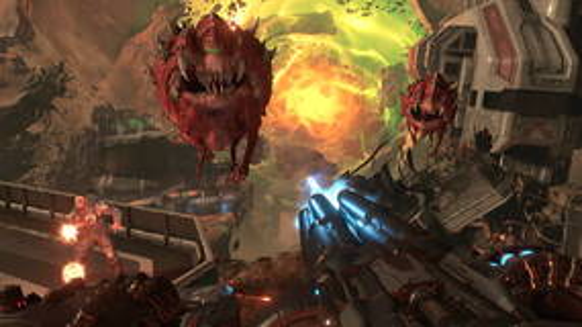 Image for Doom Eternal's platforming is good, actually