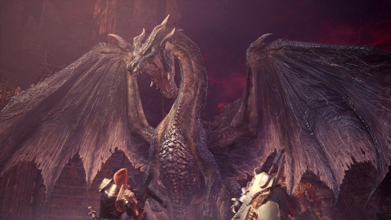 Image for Monster Hunter Iceborne's final update trailer shows off the legendary dragon Fatalis