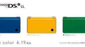 Image for DSi LL, DSi price cut in Japan, new colours shown