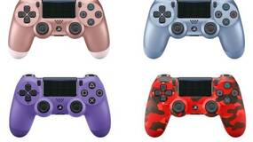 Image for These new DualShock 4 colors are pretty snazzy