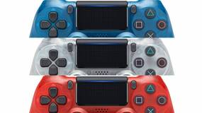 Image for Sony's bringing back its translucent controller series with three Crystal DualShock 4 colors