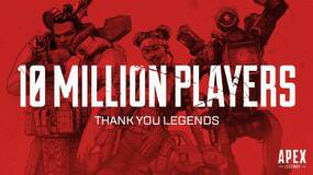Image for Apex Legends hits 10 million players and one million concurrent