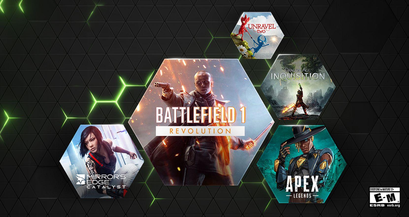 EA menambahkan Battlefield 1, Dragon Age: Inkuisisi dan lebih banyak judul ke GeForce Now
