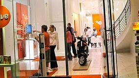 Image for EA Sports Active retail store opens in SF, contains scooter