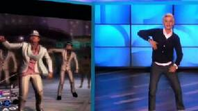 Image for Watch Ellen groove to Dance Central, sign up with her to win a Kinect