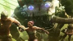 Image for Enslaved box-art shows running, big creatures