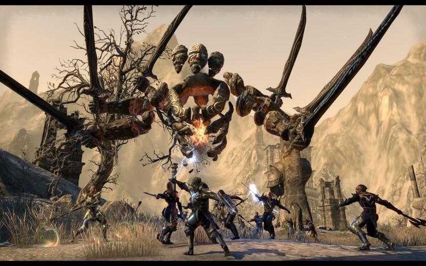 Image for Elder Scrolls Online screenshots show Craglorn update