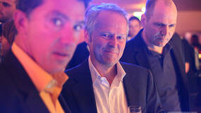 Image for Quick shots: Yves Guillemot checking out Vita