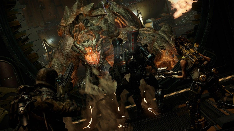 Image for Evolve: four new hunters, Behemoth monster detailed