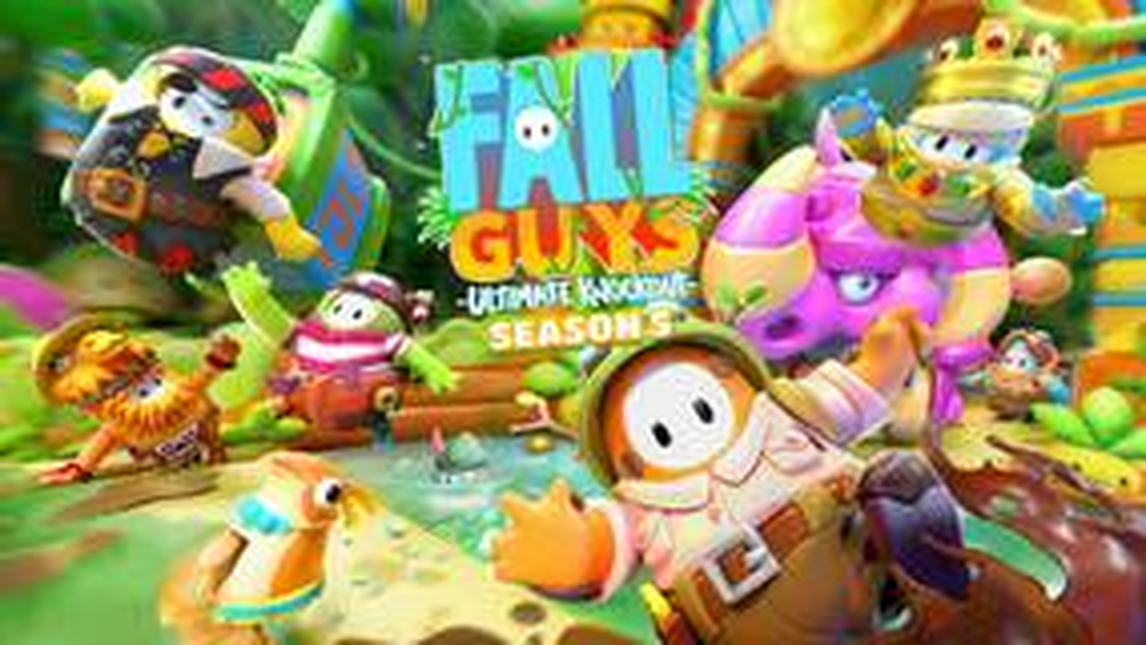 Image for Fall Guys Season 5 kicks off a Jungle Adventure on July 20 [Update]