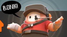 Image for Fall Guys is getting a Team Fortress 2 outfit featuring the Scout