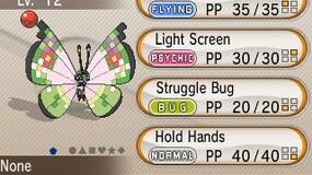 Image for When 100 million Pokemon are traded, Pokemon X&Y players will get Fancy Pattern Vivillon