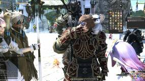 Image for Final Fantasy 14 player eats 999 eggs in front of large crowd