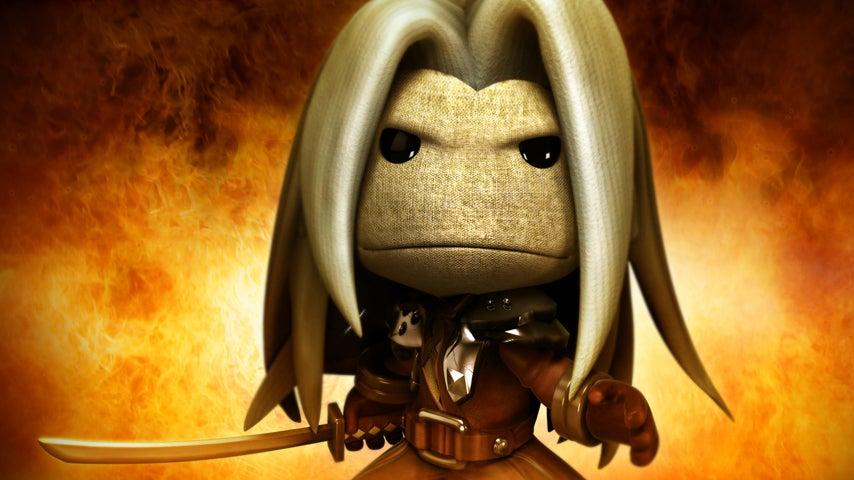 Image for Someone rebuilt Final Fantasy 7 in LittleBigPlanet
