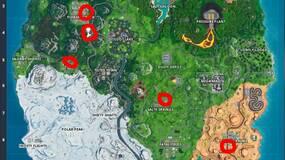 Image for Fortnite: Gas Station locations