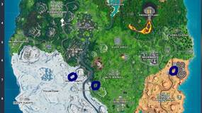Image for Fortnite: Visit Graffiti covered billboards in a single match