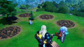 Image for Fortnite: Thor Awakening Challenge - Where to find Mjolnir, the Bifrost marks and mountaintop ruins
