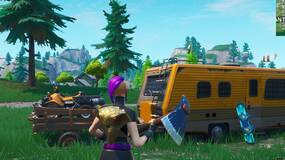 Image for Fortnite: complete a time trial north of Lucky Landing or east of Snobby Shores