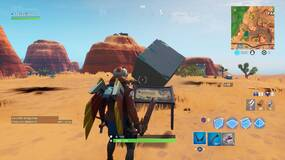 Image for Fortnite: Visit a memorial to a cube in the desert or by a lake