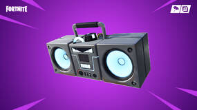 Image for Fortnite's new Boom Box destroys buildings
