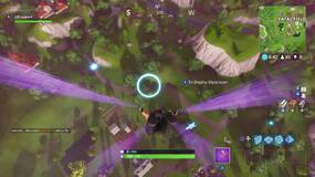 Image for Fortnite: how to skydive through floating rings