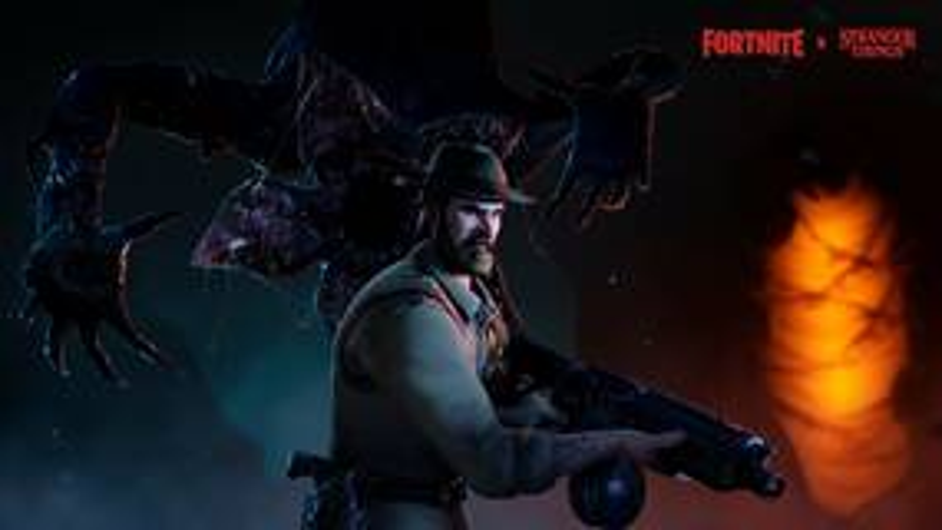Image for Fortnite gets Demogorgon, Chief Hopper skins in Stranger Things crossover