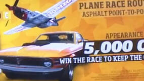 Image for Forza Horizon Mustang vs Mustang gameplay, you race a plane