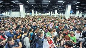 Image for 335,000 of you from 88 countries attended gamescom 2014
